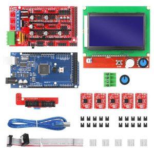 Kit Pantalla 12864 Con Adaptador + Ramps 1.4 | Impresión 3d