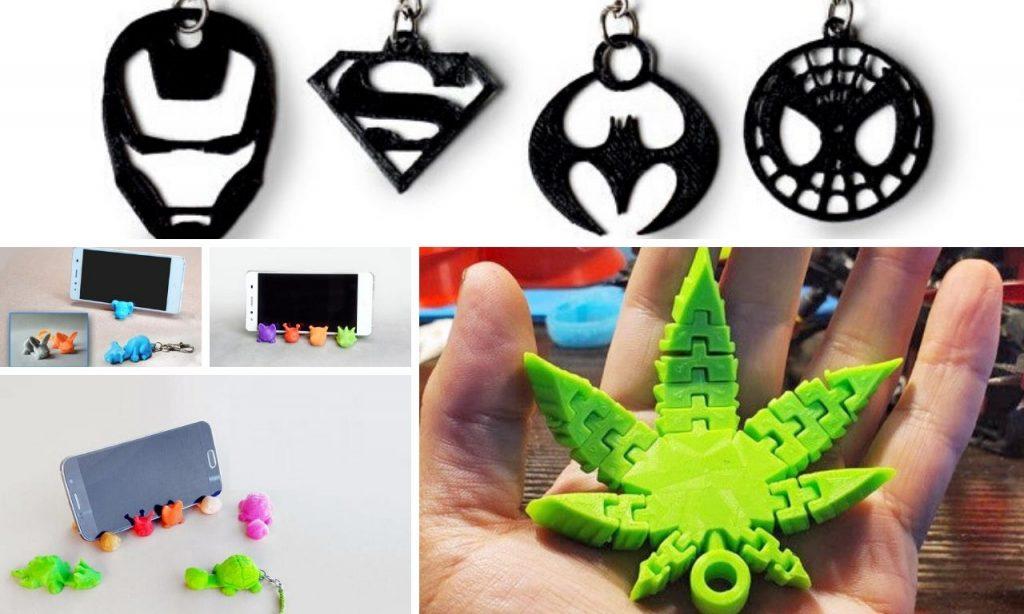 Lleva estos increíbles llaveros personalizados impresos en 3D al mejor precio