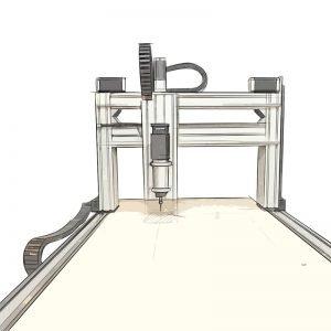 CNC personalizada BIGMAKER