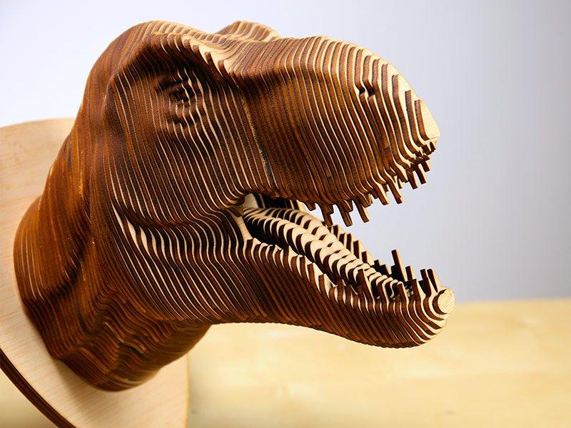 Dinosaurio cabeza BIGMAKER
